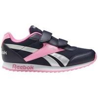 Boty Dívčí Nízké tenisky Reebok Sport Royal CL Jogger Černé, Růžové