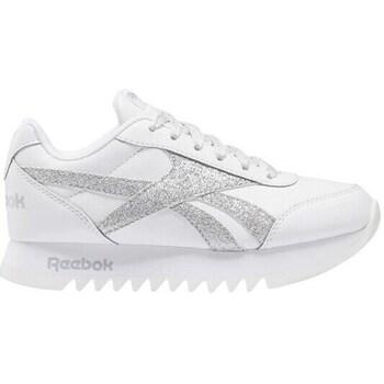 Boty Děti Nízké tenisky Reebok Sport Royal CL Jogger Bílé, Stříbrné