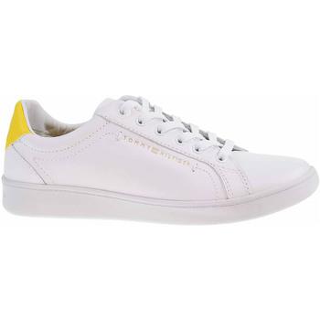 Boty Ženy Nízké tenisky Tommy Hilfiger Dámská obuv  FW0FW05547 ZGS vivid yellow Bílá
