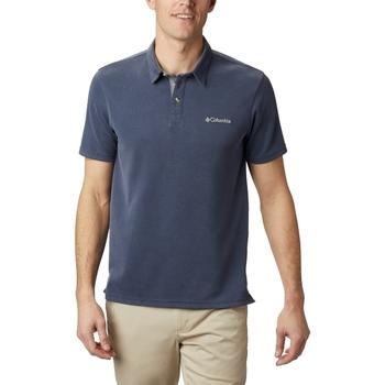Textil Muži Polo s krátkými rukávy Columbia Nelson Point Polo Modrá