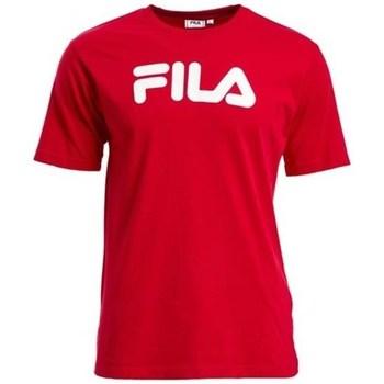 Textil Trička s krátkým rukávem Fila Classic Pure Červené