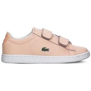 Boty Dívčí Nízké tenisky Lacoste Carnaby Evo Strap Růžové