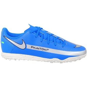 Boty Chlapecké Fotbal Nike Phantom GT Club TF JR Modré