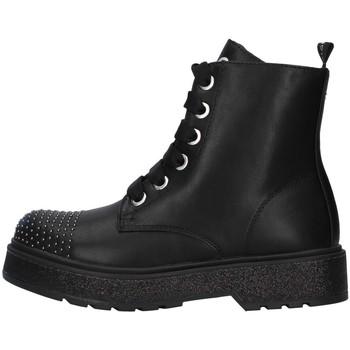 Boty Dívčí Kotníkové boty Café Noir C-800 Černá