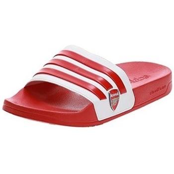 Boty Muži pantofle adidas Originals ADILETTE SHOWER EG1212 Červená