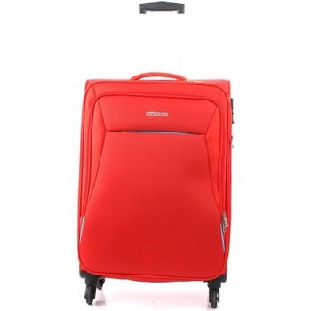 Taška Kufry textil American Tourister 39G000908 Červená
