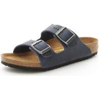 Boty Chlapecké Dřeváky Birkenstock 553883 Modrá