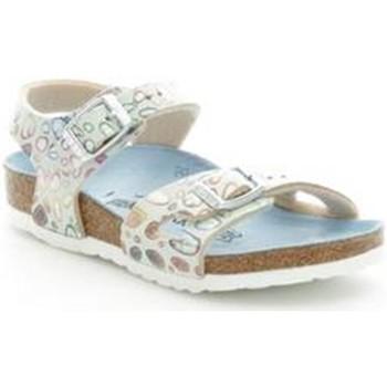 Boty Dívčí Sandály Birkenstock 731893 Modrá