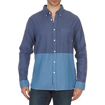 Textil Muži Košile s dlouhymi rukávy Element BRENTWOOD Modrá