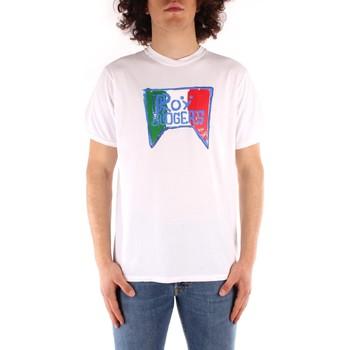 Textil Muži Trička s krátkým rukávem Roy Rogers P21RRU513C7480013 Bílá