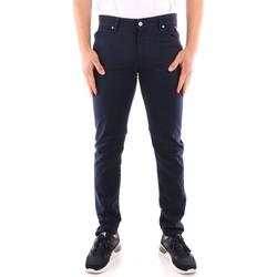 Textil Muži Oblekové kalhoty Roy Rogers P21RRU089P3180112 Modrá