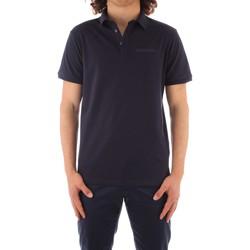 Textil Muži Polo s krátkými rukávy Trussardi 52T00488 1T003603 Modrá