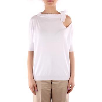 Textil Ženy Svetry Friendly Sweater C210-653 Bílá