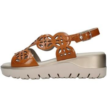 Boty Ženy Sandály CallagHan 26510 Hnědá
