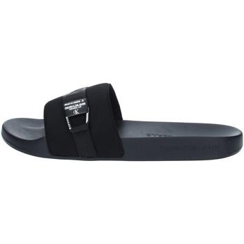 Boty Muži pantofle Calvin Klein Jeans YM0YM00075 Černá