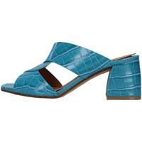 Boty Ženy Dřeváky Melluso N705 Modrá