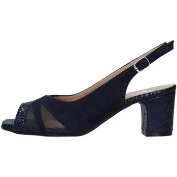 Boty Ženy Sandály Melluso S631 Modrá