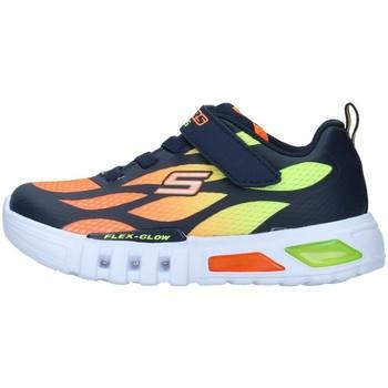 Boty Chlapecké Nízké tenisky Skechers 400016N Oranžová