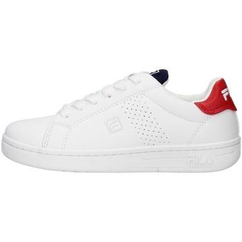 Boty Chlapecké Nízké tenisky Fila 1011115 Bílá