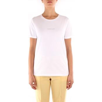 Textil Ženy Trička s krátkým rukávem Calvin Klein Jeans K20K202156 Bílá