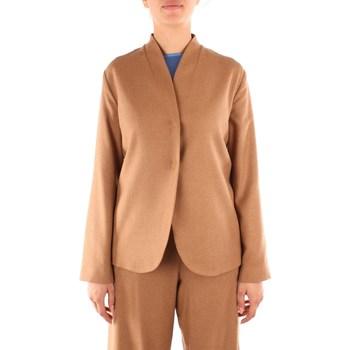 Textil Ženy Saka / Blejzry Niu' AW20319T48 Béžová
