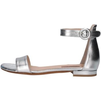 Boty Ženy Sandály Albano 4220 Stříbrná
