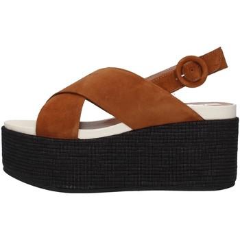 Boty Ženy Sandály Tres Jolie 2801/MONY Hnědá