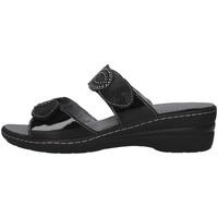 Boty Ženy Dřeváky Melluso K95720 Černá