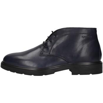 Boty Muži Kotníkové boty IgI&CO 4100111 Modrá