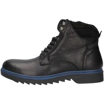 Boty Muži Kotníkové boty Prgman PAF20708 Černá