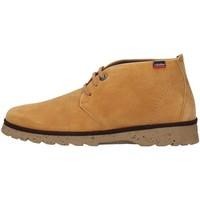 Boty Muži Kotníkové boty CallagHan 40002 Béžová