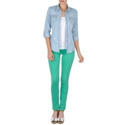 Textil Ženy Kapsáčové kalhoty Cimarron CASSIS Zelená