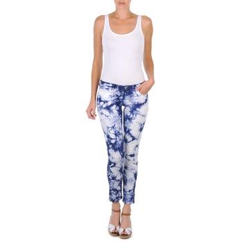 Textil Ženy Tříčtvrteční kalhoty Cimarron CLARA TIE DYE Modrá