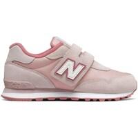 Boty Dívčí Nízké tenisky New Balance 515 Růžové
