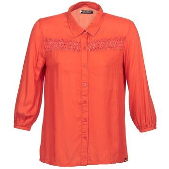Volcom Košile s dlouhymi rukáv KNOTTY - Červená