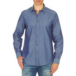 Textil Muži Košile s dlouhymi rukávy Ben Sherman BEMA00490 Modrá