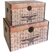 Bydlení Kufry, úložné boxy Signes Grimalt Přepravky 2.Září World Září 2U Marrón