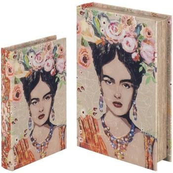 Bydlení Kufry, úložné boxy Signes Grimalt Book Boxes Set Ze Dne 2. Září 2U Naranja