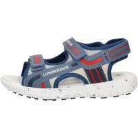 Boty Chlapecké Sandály Lumberjack SB28206010M17 Modrá