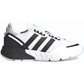 Boty Ženy Nízké tenisky adidas Originals ZX 1K Boost J Bílé, Černé