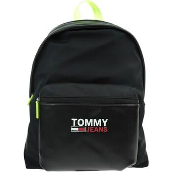 Taška Batohy Tommy Hilfiger Tjm Campus Twist Dome Černé