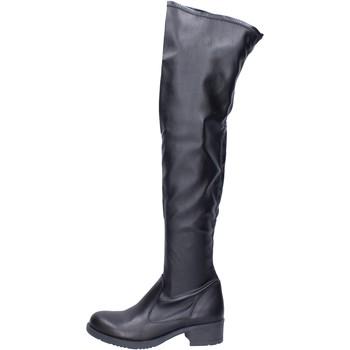 Boty Ženy Vysoké kozačky nad kolena Liu Jo Boty BJ799 Černá