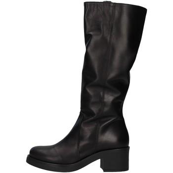 Boty Ženy Vysoké kozačky nad kolena Unica 10187 Černá