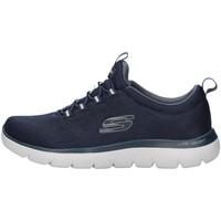 Boty Muži Nízké tenisky Skechers 232186 Modrá