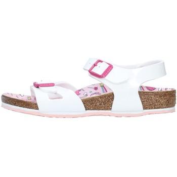Boty Dívčí Sandály Birkenstock 1018864 Bílá