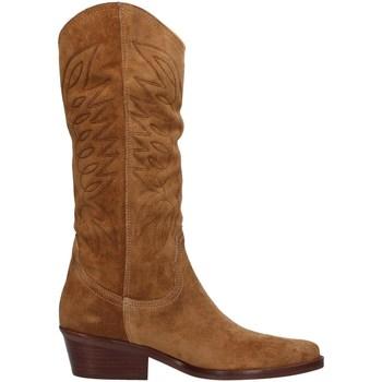 Boty Ženy Kozačky Dakota Boots DKT67 Hnědá