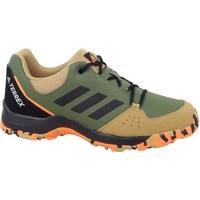 Boty Děti Šněrovací polobotky  & Šněrovací společenská obuv adidas Originals Terrex Hyperhiker Zelené, Béžové