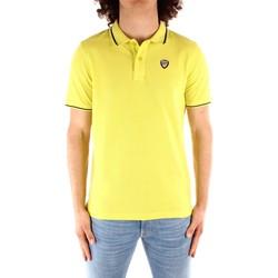 Textil Muži Polo s krátkými rukávy Blauer 21SBLUT02272 Žlutá