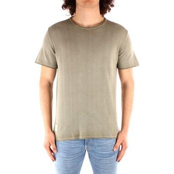 Textil Muži Trička s krátkým rukávem Blauer 21SBLUM01319 Zelená