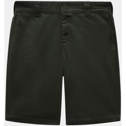 Textil Muži Kraťasy / Bermudy Dickies Slim fit short Zelená